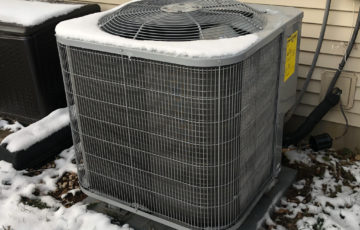 Residential HVAC unit